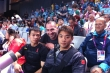 2012 Olympics- athlete's stand- Chinese lifters