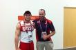 2012 Olympics corridor hallway- silver medalist