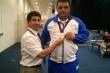 2012 Olympics- Kazim and Iranian Lifter