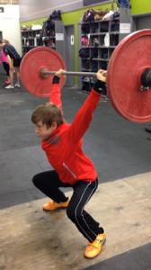 Heath squat jerk